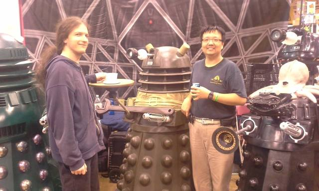 Served by the Daleks