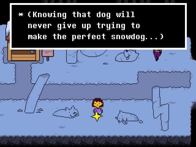 Undertale Lesser Dog Sculptures