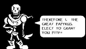 Undertale Papyrus