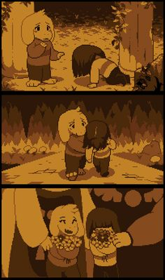 Asriel and Chara
